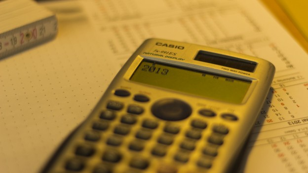 Calculator with 2013