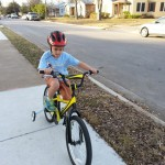 Luke bike riding
